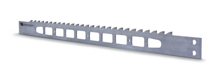Carbide-tipped scraper saw blades fort hin cutting frame saw machines